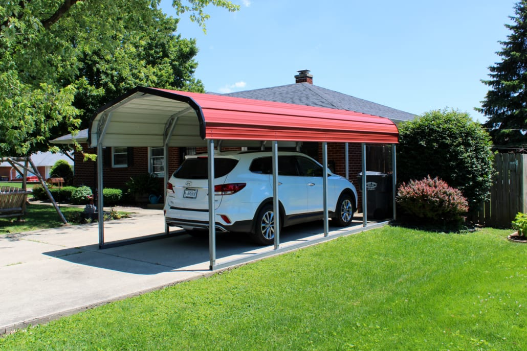 One-Car Tall Carport