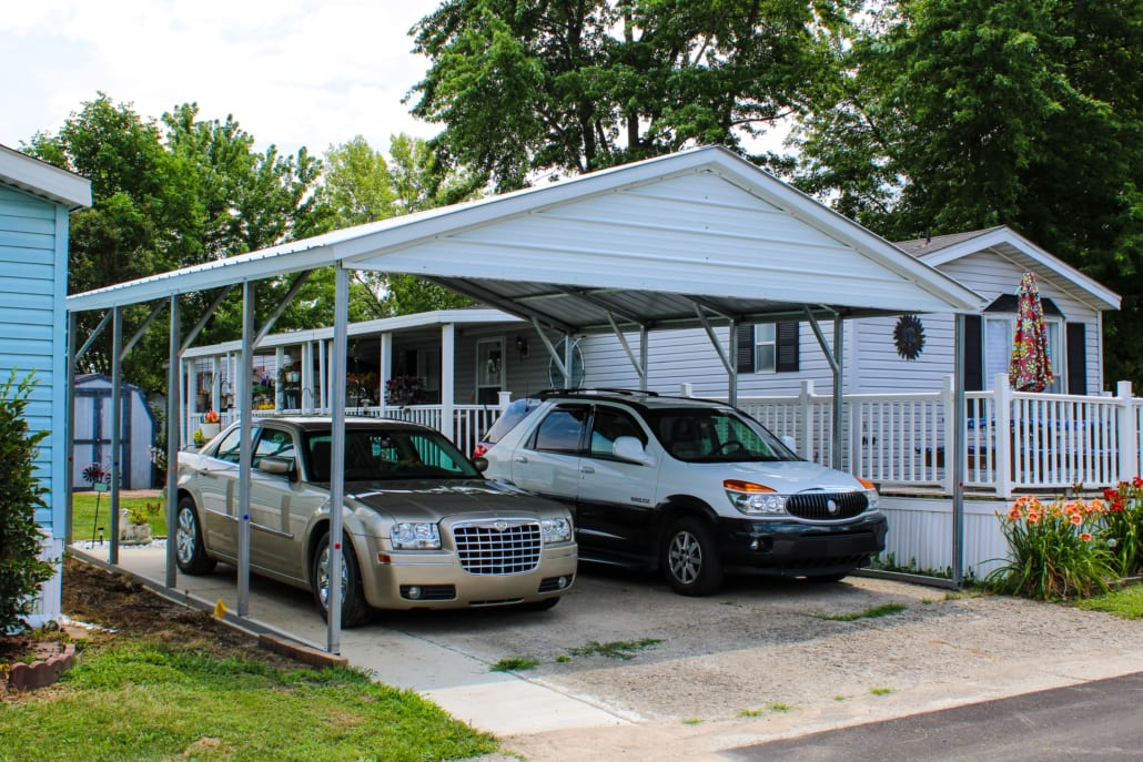 Two-Car Carport