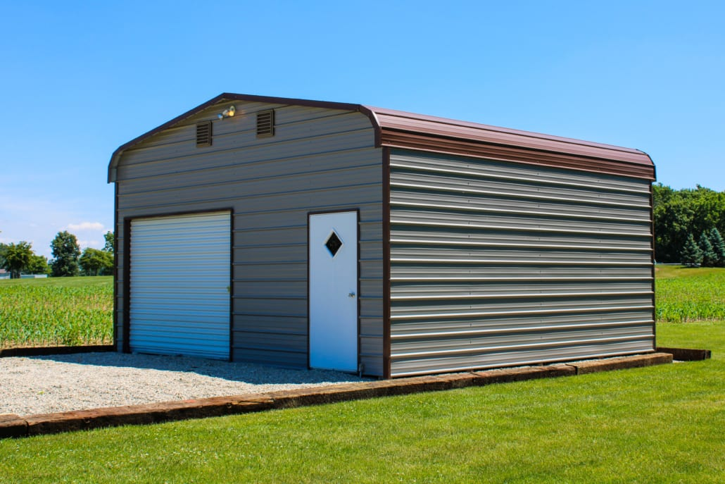 One-Car Garage w/Walk-In Door